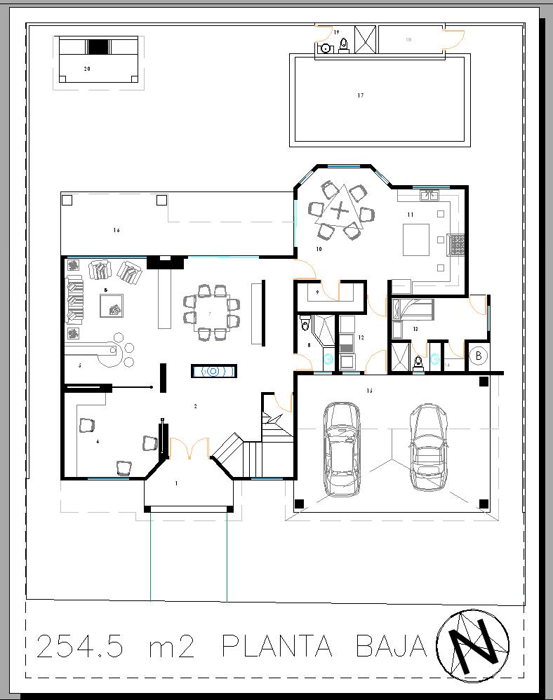 Casa alvarez layouts marce garal architecture for Casa de planta baja
