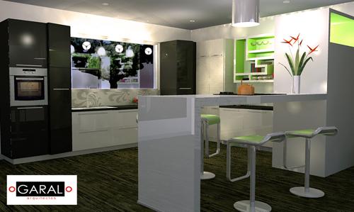 Render marce garal architecture page 5 for Diseno de interiores cocinas