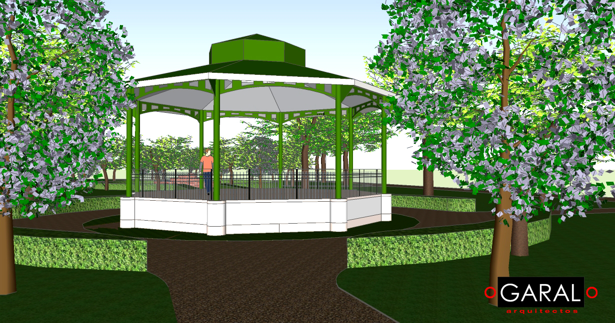 El parque del Faisán  Marce Garal Architecture