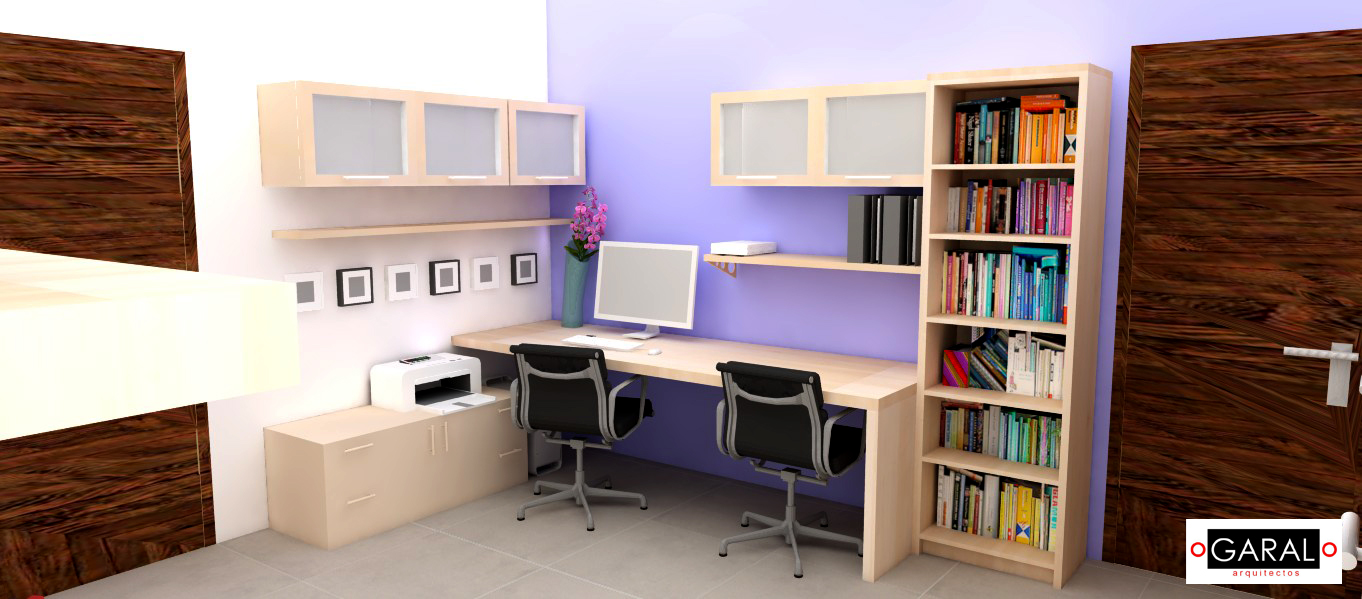 Marce garal architecture architecture design - Muebles oficina en casa ...